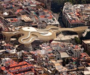 Metropol Parasol in Seville Completed