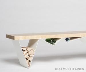 Mägi bench by Olli Mustikainen