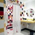 Mickey Mouse Bathroom Design