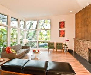 Mid-Centiury Living Room by BUILD LLC