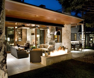 Mid-Century Ranch Renovation in Aspen