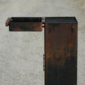 Mike Buckley's 12x12x36 CorTen Barbecue / Firepit