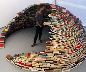 Miler Lagos Has An Igloo Made Of Books