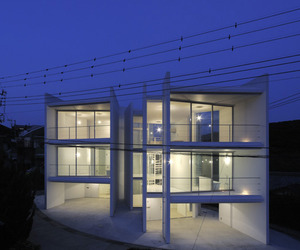 Minami-hayama Duo by Nakae Architects