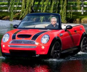 Mini Cooper Convertible Boat