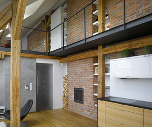 Mini-Loft Apartment in Prague | Dalibor Hlavacek