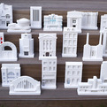 Miniature Architectural Models by Chisel & Mouse