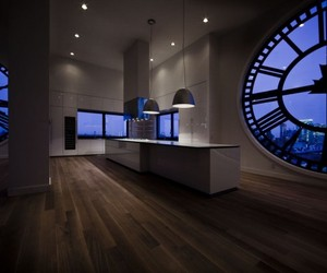 MINIMAL USA : Clock Tower Kitchen