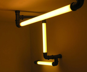 Atomic Lighting Tubes, Minimalist Design