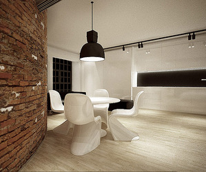 Minimalist Loft in Poland