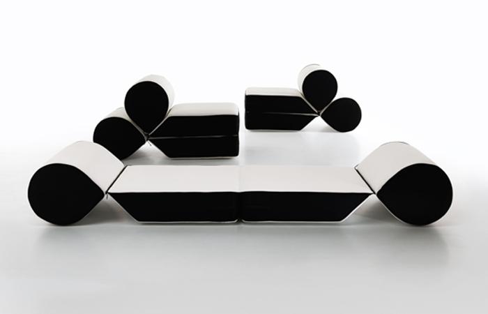Minimalist Sofa By Cerruti Baleri