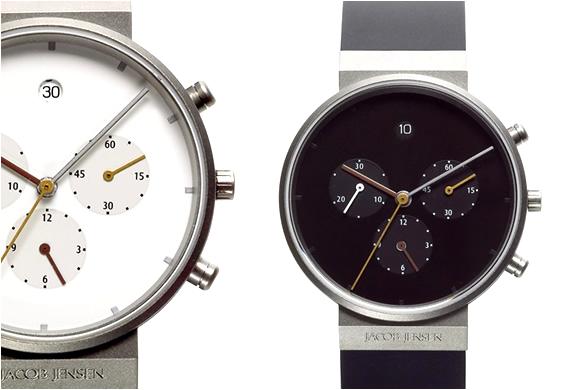 Minimalist watch by jacob jensen for Minimal art wrist watch