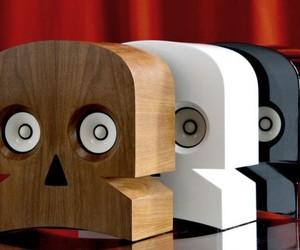 MiniSkull Amplified Speakers by Kuntzel + Deygas