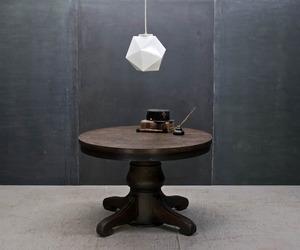 Minnequa Oak Dining Table Vintage Industrial Mercantile
