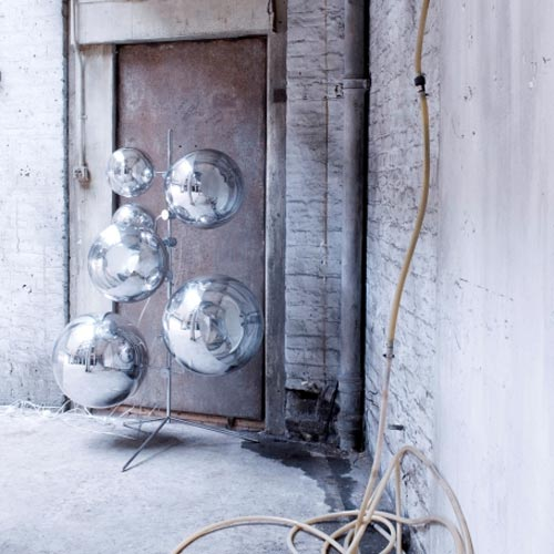 Mirror Balls On A Stand
