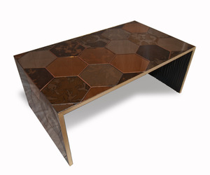 Mirrored Coffee Table by Omforme