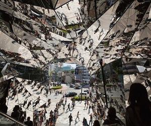 Mirrored Entrance by Hiroshi Nakamura