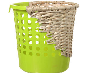 Mixed Material Baskets