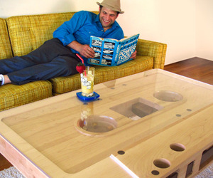Mixtape Coffee Table by Jeff Skierka Designs