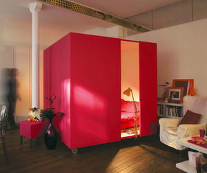 Mobile Bed Cube – Great Idea For A Studio Apartment