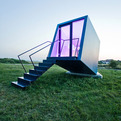 Mobile Hotel Room Entitled Hypercubus by Studio WG3