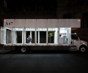 Mobile Library A47 by Productora