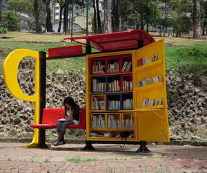 Mobile Libraries in Bus Stations