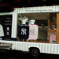 Mobile Truck Pitches New York Yankees Fragrance