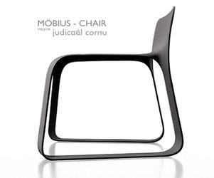 Mobius chair by Judicael Cornu