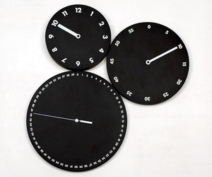 Mod Italian Wall Clocks by Progetti