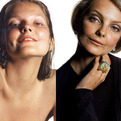Model ages from 10-60 with lighting and make-up