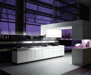Modern and Simple White Kitchen Design by Poggenpohl