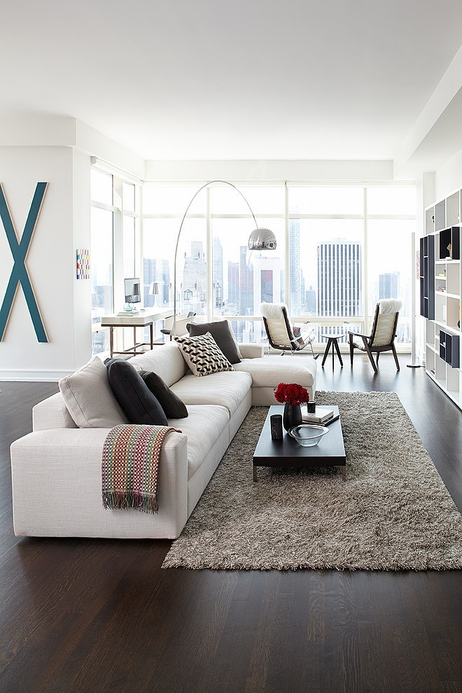 Modern apartment design by tara benet new york for Apartment design new york