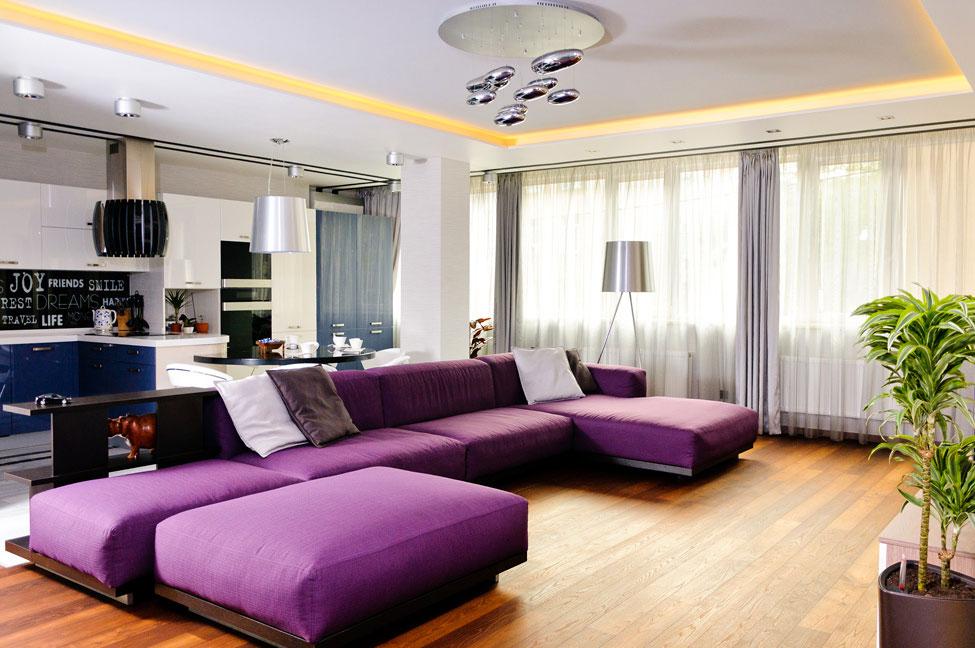 Modern Apartment Interior Design in Odessa
