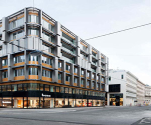 Modern Bene Showroom Neutorgasse in Vienna, Austria