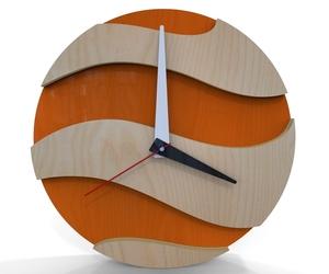 Modern clock - Sunset