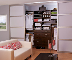 Modern Closet Organization by Easy Closets