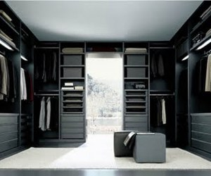 Modern Closet System of Senzafine by Poliform