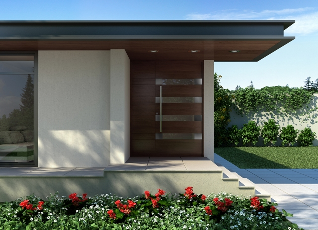 Modern Contemporary Front Doors from Foret Doors
