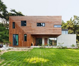Modern Countryside Residence in South Korea