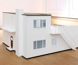 Modern Dollhouse Replica of Arne Jacobsen's Home