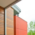Modern Downspout by BUILD LLC