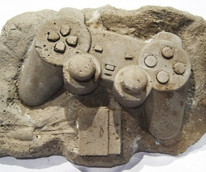 Modern Fossils in Concrete