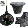 Modern Furniture Made From Volcanic Rock