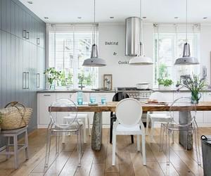 Modern grey interior in Poland