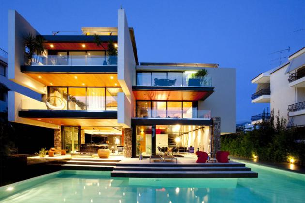 Modern h2 apartments in athens greece