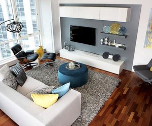 Modern High-Rise Apartment in Chicago by Mia Rao Design