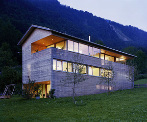 Modern Home Design by architect dietrich.untertrifaller