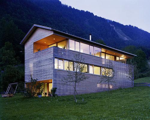 Modern Home Design By Architect Dietrich Untertrifaller