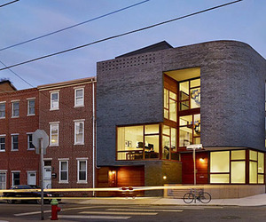 Modern home integrated into historic neighborhood